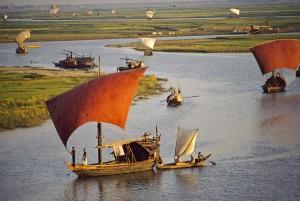 Natural River in Bangladesh