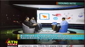 e-Cab on ATN News Young Nite