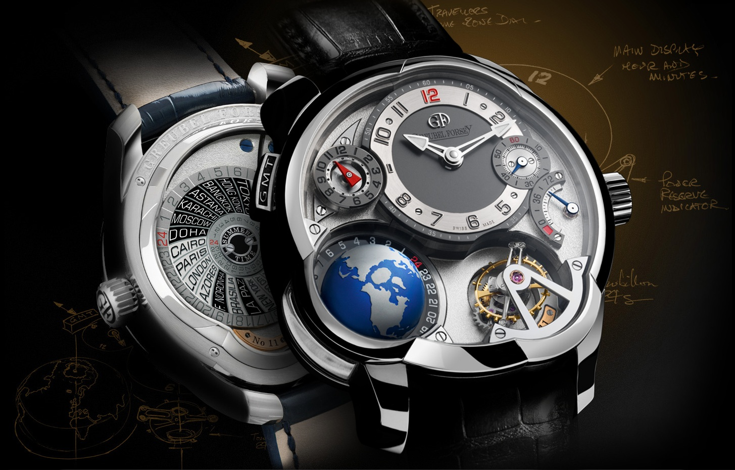 Top 5 high-end watches for men 2015
