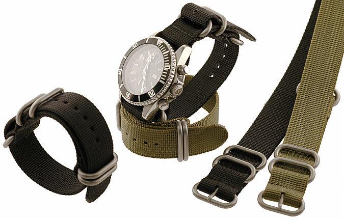 Nylon belt wrist watch in BD