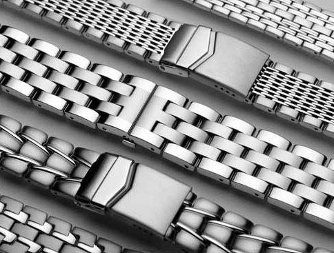 Various Styles of Metal Watch Bracelets in BD