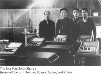 History of Casio