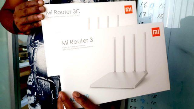 Mi Router 3 VS 3C